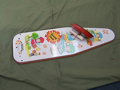 1950s WOLVERINE SUNNY SUZY METAL IRONING BOARD TOY!