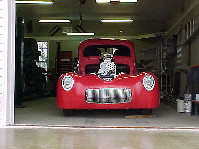 1941 1940 Willy's chassis plans Rat Hot rod S10 frame 41 40 Willys Hemi gasser