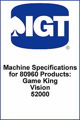 IGT 80960 Machine Specifications PDF