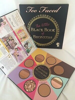 NEW Too Faced The Little Black Book Of Bronzers Limited Edition FULL SZ Bronzer