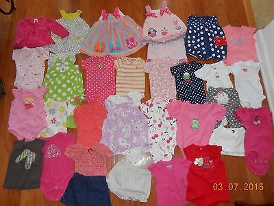 Huge 100+ pieces lot of size 6 month baby girl clothes