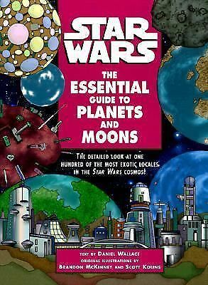 The Essential Guide to Planets and Moons (Star Wars) First Edition