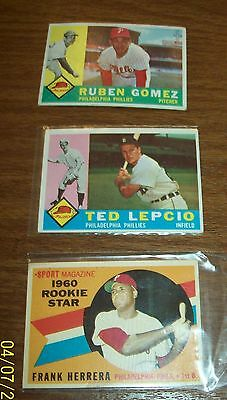 Lot of 1960 to 1969 Topps Baseball Cards