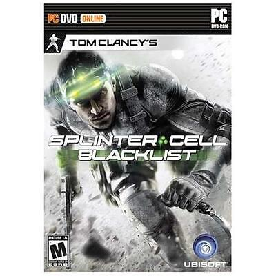 Tom Clancy's Splinter Cell:   (Sony Playstation 3, 2013) PS3 Disk is unscratched