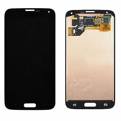 LCD Display Touch Screen Digitizer Assembly For Samsung Galaxy S5 i9600 Black