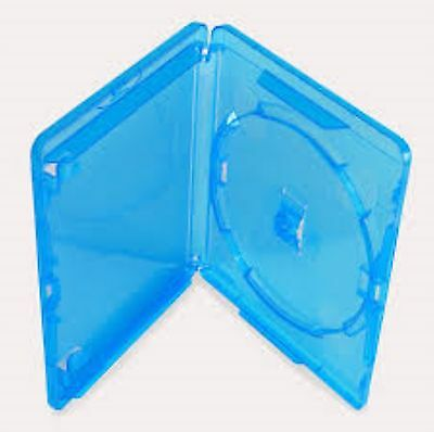 5 Single Slim Blu ray Case 11 mm Spine New Empty Replacement Disk Amaray Cover