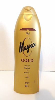 Magno Gold Scent Bath and Shower Gel from Spain 550 mL