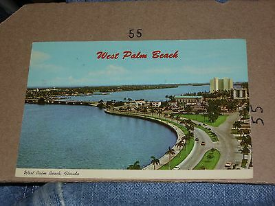 West Palm Beach FL On Lake Worth Cove Drive Fort Lauderdale Aerial Greetings 76