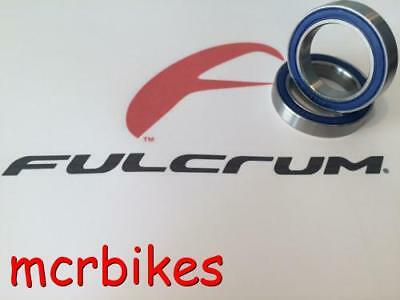 Fulcrum Racing Quattro Front Or Rear Wheel Hub Bearings Rubber Sealed