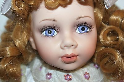 """*NEW* CLASSIC MELODY COLLECTION 13"""" NEDA HAND-CRAFTED PORCELAIN DOLL"""