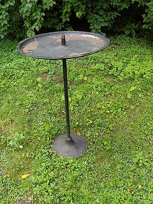 Vintage Hendryx Parrot Stand - Very Rare Turn-Of-The Century Piece