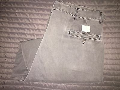 Polo by Ralph Lauren Mens Gray Khaki Chino 36x29 100% Authentic