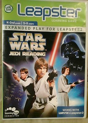 "Leap Frog Leapster & Leapster 2: Star Wars ""Jedi Reading"" Learning game."