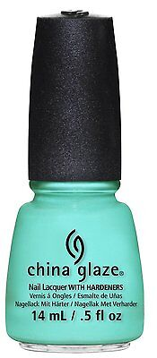 China Glaze Nail Polish Lacquer Too Yatch to Handle #81323 -  0.5floz/15ml