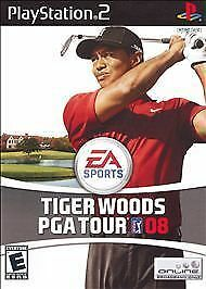 Tiger Woods PGA Tour 08  (Sony PlayStation 2, 2007)