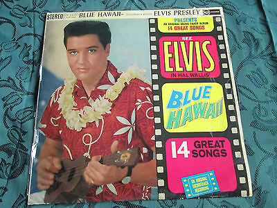 Elvis Presley ‎– Blue Hawaii  RCA Victor ‎– SF 5115 UK Vinyl LP Album