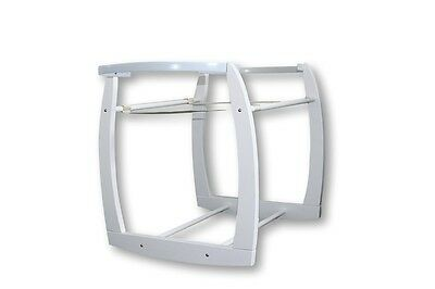New Baby Moses Basket / Bassinet WHITE COLOUR, ROCKING STAND ONLY