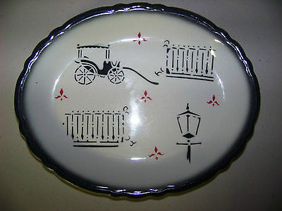 Wellsville China Company Made In The USA Platter