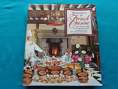 Masterpieces of French Cuisine by Francis Amunategui 1st Edition 1971 Rare
