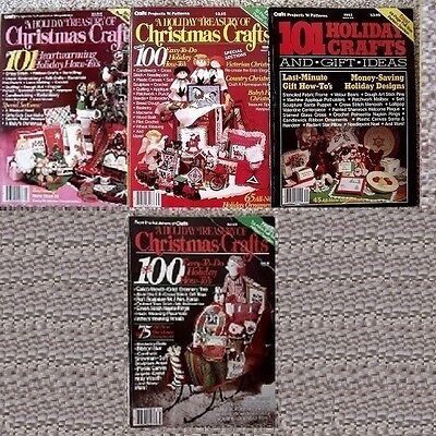Choice of Vintage Christmas Holiday Treasury Crafts Project & Pattern Magazines