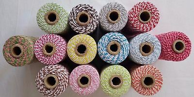 1 x Roll - Cotton Bakers Twine - Butchers Twine - Gift Wrapping Supplies