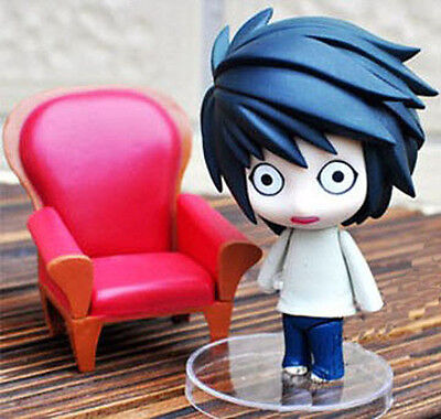 Anime Death Note L Lawliet Collection Figure PVC Figure Anime Toy Figurines Gift