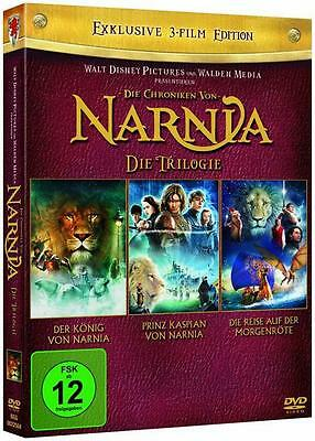 Narnia 1-3 Complete Collection, 3 DVD (2012)