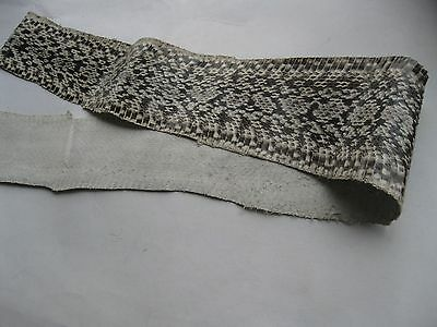 authentic Natural  Beauty Ratsnake SNAKE SKIN HIDE real taxidermy tanned leather