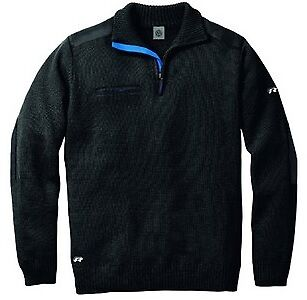Mens Vw 'R' Racing Collection Xxl Anthracite 100% Wool Jumper Top - Genuine Vw