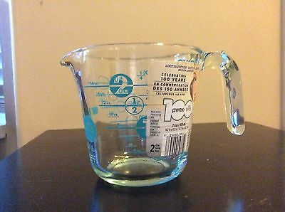 Pyrex 100th Anniversary Turquoise Measuring Cup***BRAND NEW***