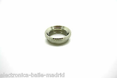 M12 Deep Thread Round Nut For 3 Way Toggle Switch Of Switchcraft - Vintage Style