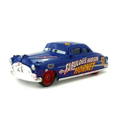 Mattel Disney Pixar Cars Fabulous Hudson Hornet Toy Car 1:55 Loose New In Stock