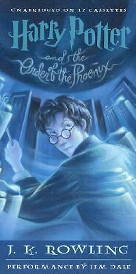 Harry Potter and the Order of the Phoenix 17 Cassette Tape Audio Book Unabridged