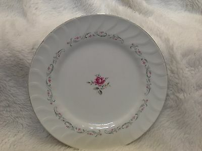 "Fine China of Japan Royal Swirl Pattern 10.5"" Dinner Plate"