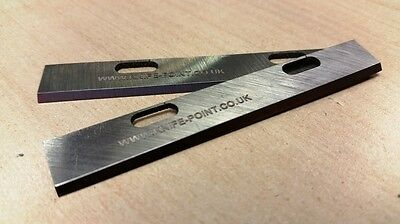 BLACK & DECKER DN75 compatible - set of 2 x HSS PLANER BLADES to fit B&D DN75