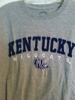 University Of Kentucky Wildcats Sewn And Embroidered Lettering T-Shirt Size Med.