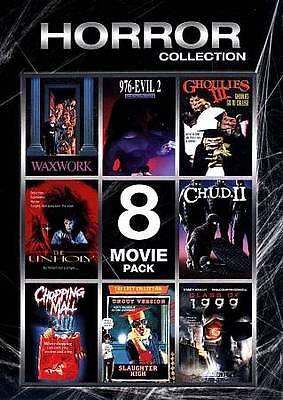 Horror Collection: 8 Movie Pack, Vol. 1 (DVD, 2012, 2-Disc Set) FREE SHIPPING!!!