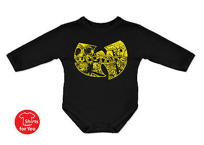 Wu Tang Clan baby all sizes cute bodysuit funny onepiece hip hop newborn gift