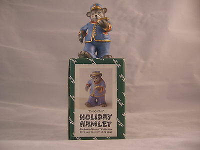 VINTAGE - FITZ AND FLOYD CONDUCTOR -- COLLECTIBLE --