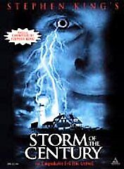 Storm of the Century (DVD, 1999, Complete Miniseries) Stephen King  NEW SEALED
