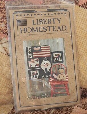Liberty Homestead Americana  Flag/house/uncle sam Wall hanging Patterns