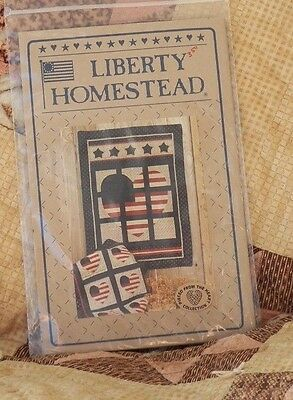 Liberty Homestead Americana Pieced from the Heart  Wall hanging Pattern