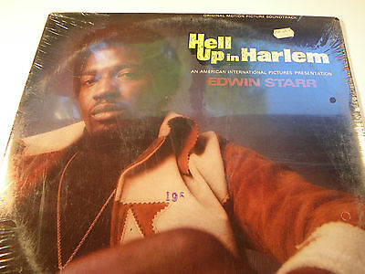 Hell Up In Harlem Soundtrack  / 1974 Record / 33 RPM / Motown / Edwin Starr