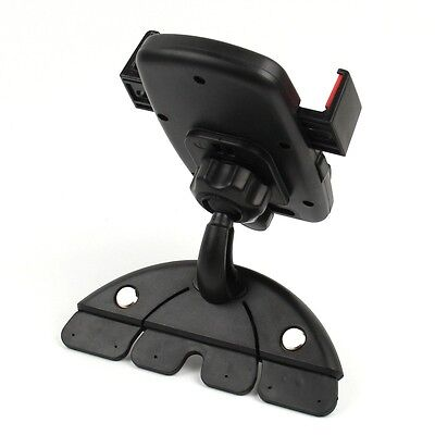 Auto Lock Universal 360° Rotating Car CD Slot Mount Holder for Cell Phone GPS