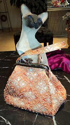 Copelia's Catwalk, Gorgeous Hand Beaded Evening Bag by Eny. PRISTINE