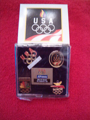 1992 JCPENNEY U.S. OLYMPIC PIN COLLECTOR'S SET - BARCELONA