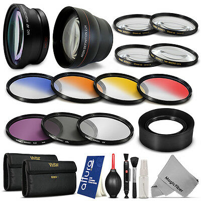 72MM Complete Lens & Filter Kit for Canon EOS 6D 7D 50D 60D 70D 5D Mark III