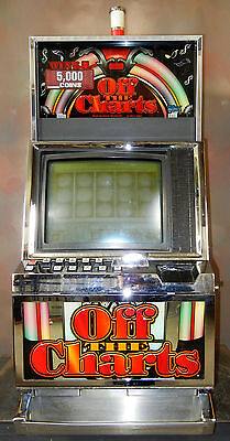 WMS 550 VIDEO SLOT MACHINE:   OFF THE CHARTS