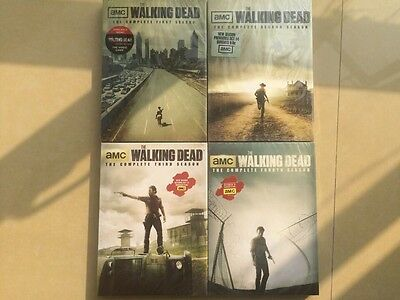 Brand New  The Walking Dead: The Complete Seasons 1-4 1,2,3,4 (DVD)