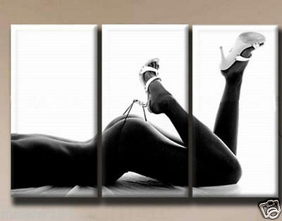 "Hot Sell Modern Wall Deco Oil Painting ""Sexy Girl ''"